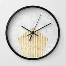 penta gOld Wall Clock
