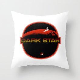 Dark Star Throw Pillow