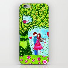 Love#2 - Spring Tree iPhone & iPod Skin