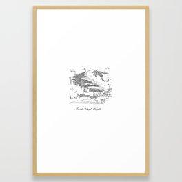 Frank Lloyd Wright Framed Art Print