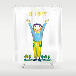 Litlle boy Shower Curtain