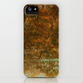 Hayes Pond Reflection lV iPhone Case