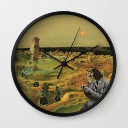 Porridge for his Porridge Bowl Wall Clock
