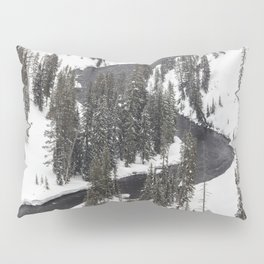 Yellowstone National Park - Lewis River 2 Pillow Sham