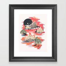 Landscape of Dreams Framed Art Print
