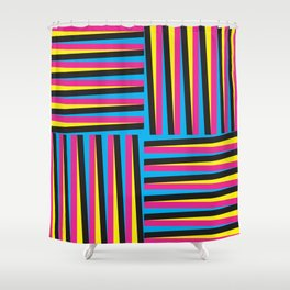 CMYK Shower Curtain