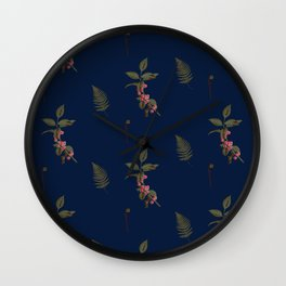 Berry merry Wall Clock