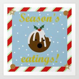 Season's eatings Art Print