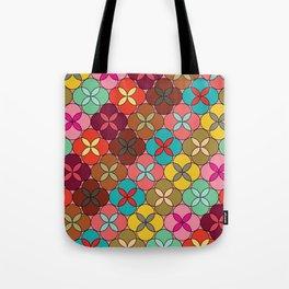 Geometric Flowers #1 Tote Bag