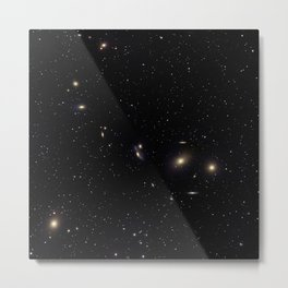 Galaxy Cluster Metal Print