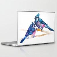 takmaj Laptop & iPad Skins featuring Blue Jays by takmaj