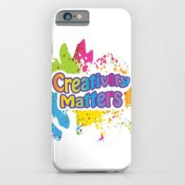 Creativity Matters iPhone Case