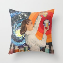 Science Fiction Throw Pillow