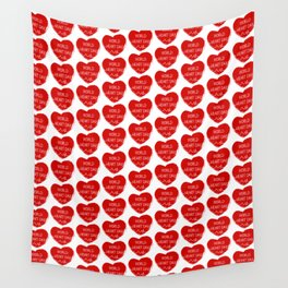 World heart day Wall Tapestry