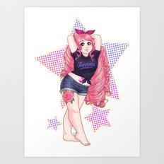SU- Number One Fan Art Print