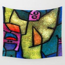 Paul Klee Angel Militant Wall Tapestry