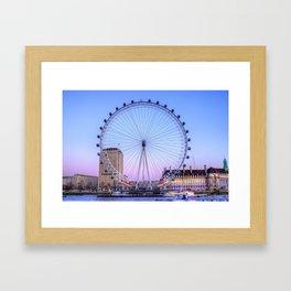 The London Eye, London Framed Art Print