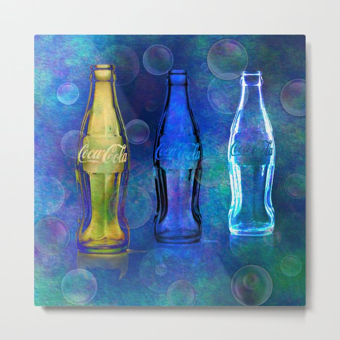 Three Cokes Metal Print