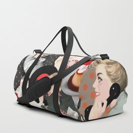 Pin Up assorted Duffle Bag