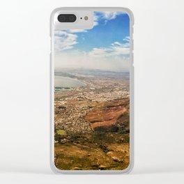 Mother City Landscape Clear iPhone Case