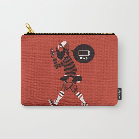 LOW BATTERY Carry-All Pouch
