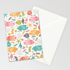 Retro Fish Stationery Cards