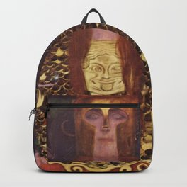 Pallas Athena Gustav Klimt Backpack