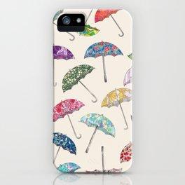 Umbrella & umbrellas iPhone Case