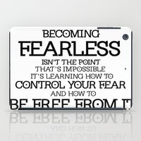 divergent iPad Cases featuring BECOMING FEARLESS - Divergent by All Things M