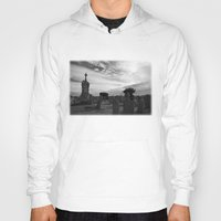 portland Hoodies featuring Portland Graveyard by Wealie
