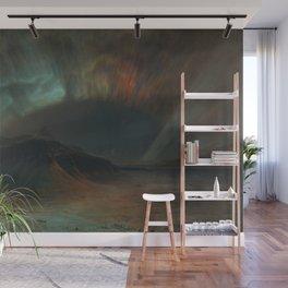 Frederic Edwin Church - Aurora Borealis Wall Mural