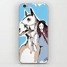 Horse love iPhone & iPod Skin