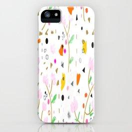 Locura Floral iPhone Case