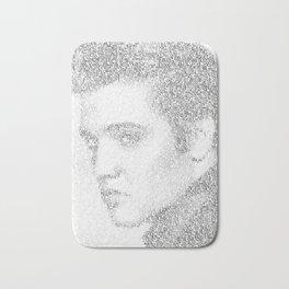 Elvis: Suspicious Minds Bath Mat