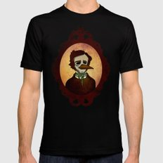 Prophets of Fiction - Edgar Allan Poe /The Raven Mens Fitted Tee Black MEDIUM