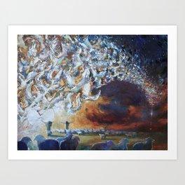 Seeing Shepherds Art Print