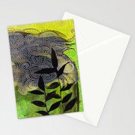flow flower flow Stationery Cards