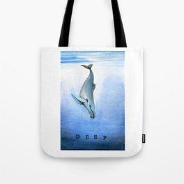 Deep - Whale 21 Tote Bag
