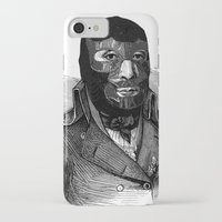wrestling iPhone & iPod Cases featuring Wrestling mask by DIVIDUS
