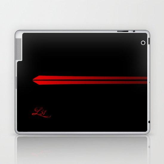 The Red Laptop & iPad Skin