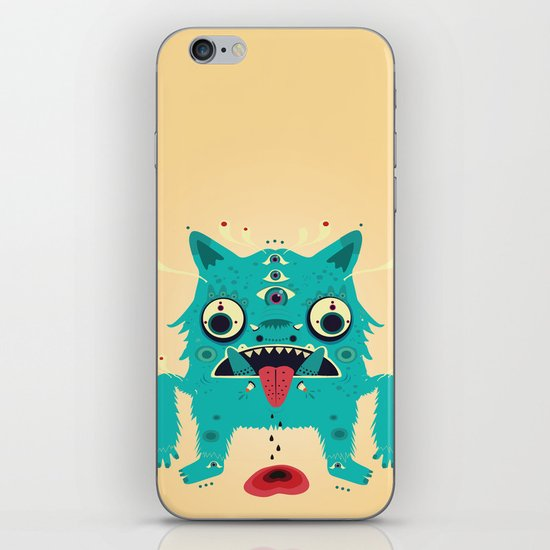 Creature n0#33 iPhone & iPod Skin