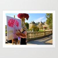 Jardin du Luxembourg - Paris Art Print
