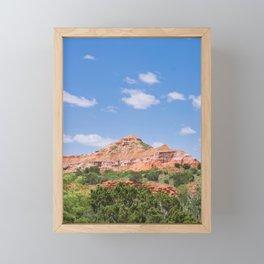 Texas Canyon 3 Framed Mini Art Print