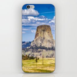 The Devils Tower Landscape iPhone Skin