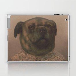 Vintage Sophisticated Dog Illustration (1878) Laptop & iPad Skin