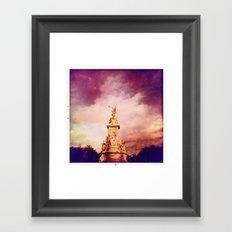 Victoria Memorial Framed Art Print