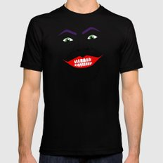 You can call me... Joker. And as you can see, I'm a lot happier Mens Fitted Tee Black MEDIUM