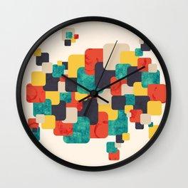 Round Corners Wall Clock