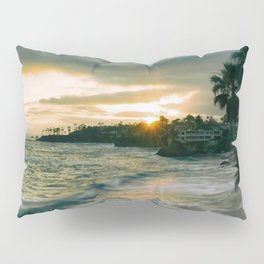 Cloudy Sunset Pillow Sham