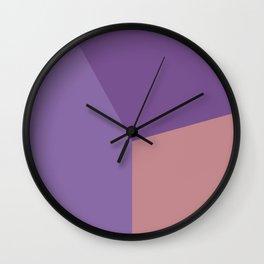 Color block #4 Wall Clock